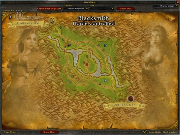 AB内Map ああ、早くもBloodElfeが!?